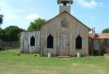 Old Churches, Schools, Houses and Barns / by Elena Marler