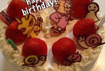 Sweets / homemade cake