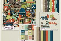 {Camp Out} Digital Scrapbook Kit by Aprilisa Designs / Camp Out - Grab Bag is created by Aprilisa Designs This Grab Bag includes 5 coordinating products. Available only for a limited time. Camp Out - Kit Camp Out - Krafties Camp Out - Torn Papers Camp Out - Cards Camp Out - Title Works