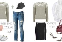 Outfits I want in my closet / by Patzy Martinez-Perez