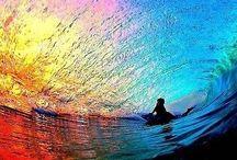 Море. ВОЛНЫ, КОРАЛЛЫ