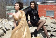 Rebirth The Photo Shoot / A photo shoot designed to show the contrast between high fashion & decaying urban sites.