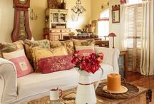 French country shabby chic