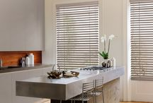 Ideal Kitchen Blinds / Waterproof & flame resistant blinds suitable for your kitchen.