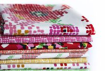 Fragments / Designs reminiscent of pixels and cross-stitching intertwine with floral patterns in cheery, saturated hues to bring you our upcoming Fragments collection. / by Dear Stella