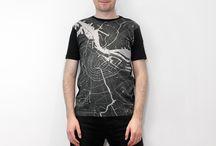 Citee unisex map T-shirts / https://www.kickstarter.com/projects/szabohaslam/citee-city-maps-printed-on-t-shirts