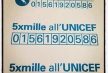 #5x1000 / Dona anche tu il 5x1000 all'UNICEF! A te non costa nulla, ai bambini salva la vita! Codice Fiscale 01561920586 http://cinquepermille.unicef.it/