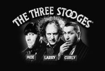 The World's a Stooge! / Clips and images of the Stooges