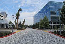 Concrete Pavers / Pavers for driveways, public spaces, sidewalks, quads, patios and more.
