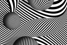 Optical art - перцептивные абстракционисты / Важнее испытать воздействие картинки, чем понять её логику. Эксперимент на уровне биологии, физиологии. Движение ушло в дизайн. Глаз устроен так, что похожие элементы группируются. Оптическое искусство исследует наше восприятие, ломая шаблоны обработки информации мозгом. Выставка 1965 года: Вазарели, Бриджет Райли, Ларри Пунс (амер)