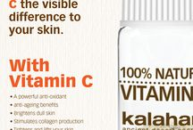 Vitamin C and your Skin! / Tropical vitamin C mixed with your Phyto Treaments Gels or Serums for Phyto Effective skincare.