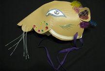 Kids ...mask, theater & pantomime
