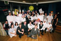 The Parkhotel Beau Site Team in change during the last years / It nice to see so many familiar faces after all these years!