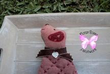 Flores Rosas Patchwork / Es un blog dedicado con mucho amor a todas aquellas personas enamoradas de los trabajos realizados a mano.