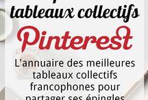 Répertoire tableaux collectifs | Pinterest / Bienvenue sur ce tableau qui répertorie les tableaux collaboratifs francophones sur Pinterest pour partager et en découvrir des nouveaux ! Pour participer il suffit :  ▲1) S'abonner à mon compte et suivre le tableau,  ▲2) M'envoyer une demande pour participer en message privé,  ▲3) Créer et épingler une épingle spécialement faite à propos de votre tableau collaboratif (avec lien).  N'hésitez pas à suivre ce tableau pour être tenu au courant des nouveautés ! à bientôt, Léa-Marie