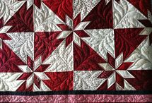 Red & White quilts / Things that are red and white