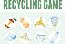 earth week/recycling
