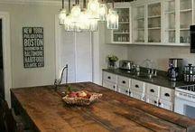kjøkkenideer spiseplass