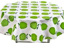 Round Fruit Tablecloths