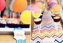 Hot Air Balloon themed party