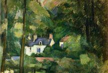 CEZANNE Paul / 1839-1906 - Post-impresionista / by Juan Jose Mazzoleni