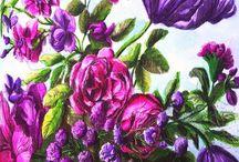 kwiaty baroku