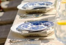 Blue and white / by Judy Schlager