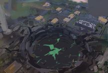 _Concept Art `Zamorak Vs Saradomin` / by RuneScape