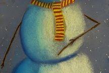 kuvis lumiukko