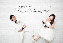 wedding photo / スタジオ前撮り写真いろいろ♪