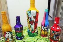 botellas y frascos