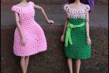 Crochet Barbie Clothes