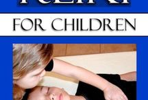 Reiki / I am a Reiki Master and use the modality with children and adults.