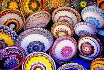 Bulgarian pottery / #Bulgarian #pottery #Bulgary #Bułgarska #ceramika #ceramics #Troyan