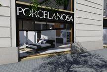 Concurso Interiorismo Porcelasona / Infografías realizadas para el VII Premios de Arquitectura e Interiorismo ofrecido por PORCELANOSA. Realizado por MSE Project