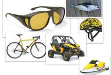 A Mellow Yellow Summer / All things yellow, mellow and manly by Haven 'fits over' sunglasses and clipons