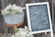 weddings decor/ideas / by Denise Barrows