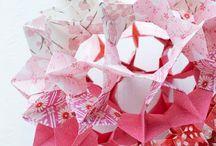 origami .•º
