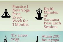 Yoga Exercises / Check out these basic Yoga exercises and positions to warm up for your first studio class