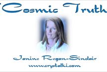Cosmic Truth Interviews / Videos where I interview well-known authors, Scientists, Doctors, Healers and various other amazing people.