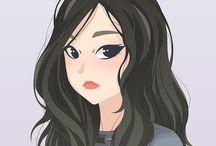 girlband ver. >> 팬 아트