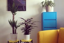 My interior ideas & hacks / This is my interior space. I like to build creative and color inspired clean space to work & live
