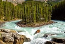 Wody śródlądowe / geografia fizyczna świata: rzeki, jeziora, wodospady