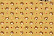 Tessuti fantasia (IT) / Ti diamo il benvenuto nel paradiso dei tessuti. A pois, a quadri, floreali, con i personaggi delle favole, con animali, matriosche.  I tessuti sono in diversi materiali quali cotone, jersey o flanella; sono importati dal Giappone o dagli Stati Uniti e prodotti da aziende quali Kokka, Michael Miller e Robert Kaufman. La scelta è vasta e offre anche tessuti laminati e biologici con motivi graziosissimi e tanti colori. http://www.modes4u.com/it/cute/c143_Tessuti.html
