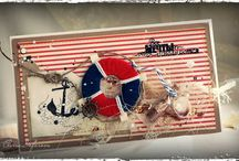 Cards: Nautisch, Sealife
