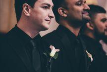 grooms on wedding days