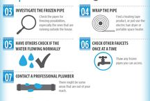 Pipe and Plumbing Infographics