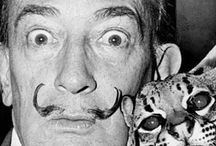 salvadore Dali / One of my favorite artists. This is where I get My inspiration.
