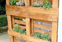 Giardini verticale con pellet