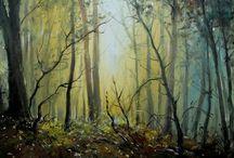 Landscape / Czech Painter Milan Čihák